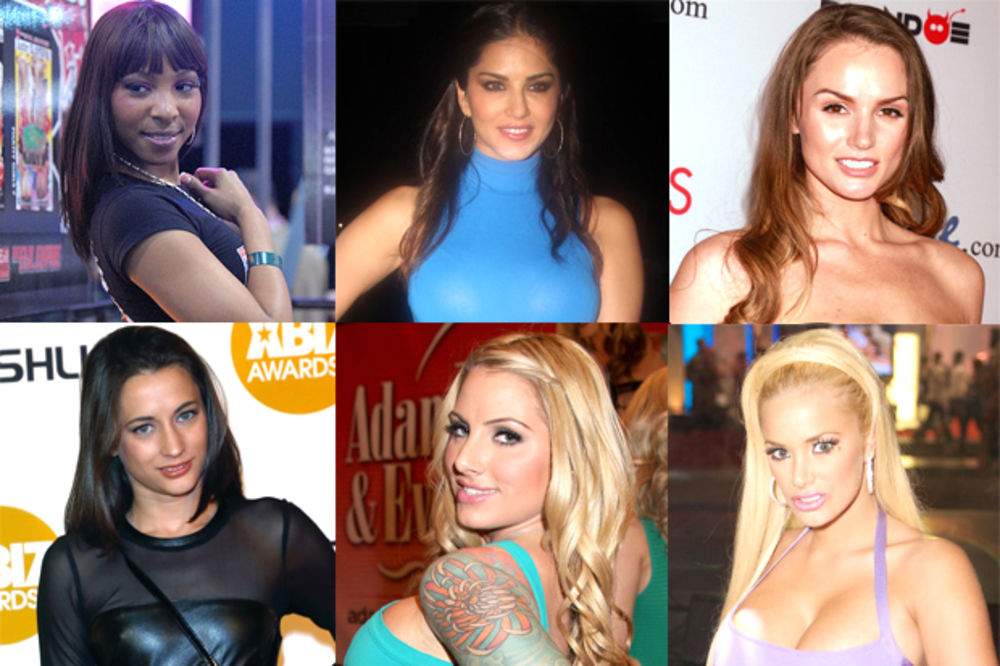 (FOTO) IZUČILE ZANAT: Ovo su 10 najtraženijih porno glumica na svetu!