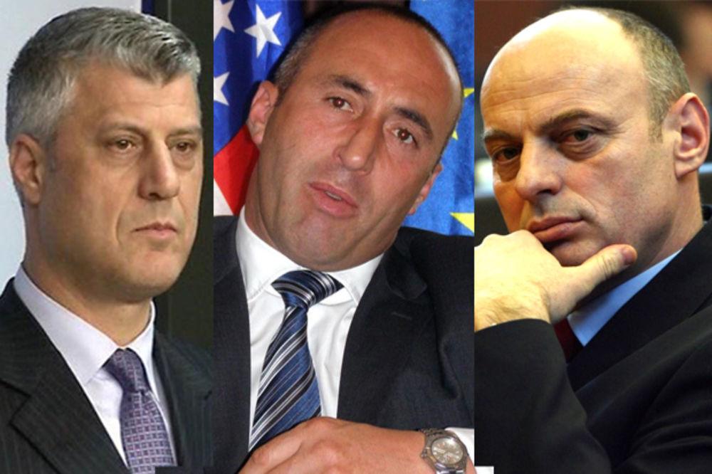 TEŠKO LICEMERJE PRIŠTINE I EULEKSA A šta je sa zločinima Tačija, Haradinaja i Čekua nad Srbima?!