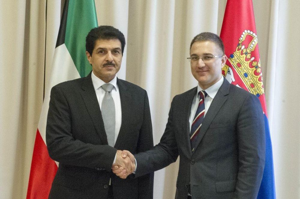 POTVRDA PRIJATELJSTVA KUVAJTA I SRBIJE: Stefanović i Abdulsamad o unapređenju saradnje!