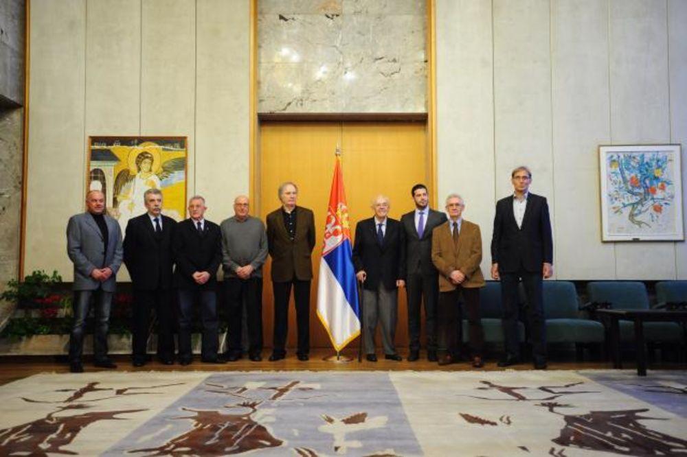 (FOTO): Ministar Udovičić primio zlatne košarkaše iz 1970. godine