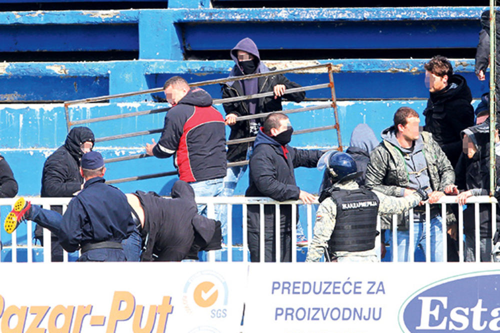 Za napad na Udovičića kriv je i FK Novi Pazar
