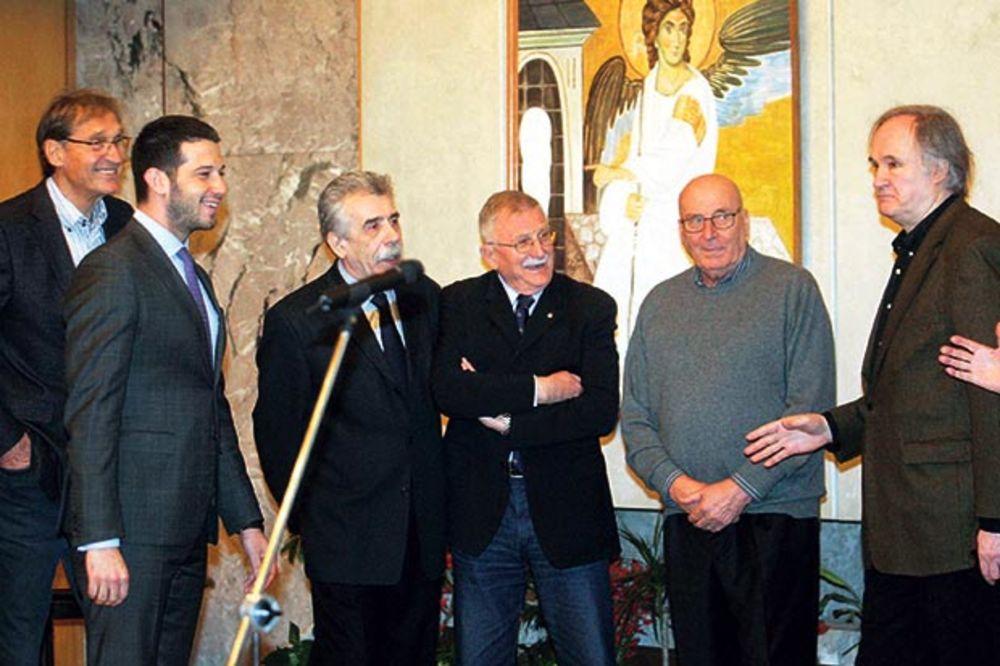 Sećanja... Ministar Udovičić sa asovima jugoslovenske košarke