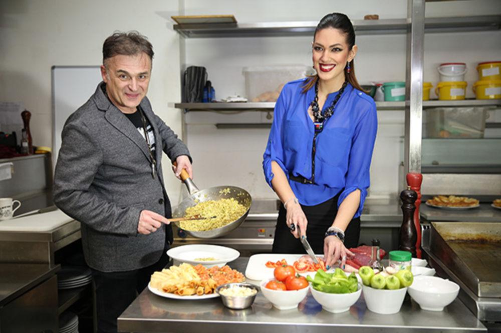 Nina i Leka spremali večeru: Poznati kuvali za decu iz Prihvatilišta