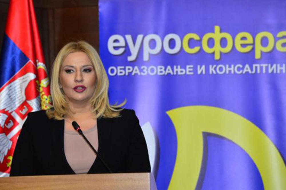 SRBIJA-BRITANIJA Mihajlovićeva: Srbija je zemlja velikih mogućnosti