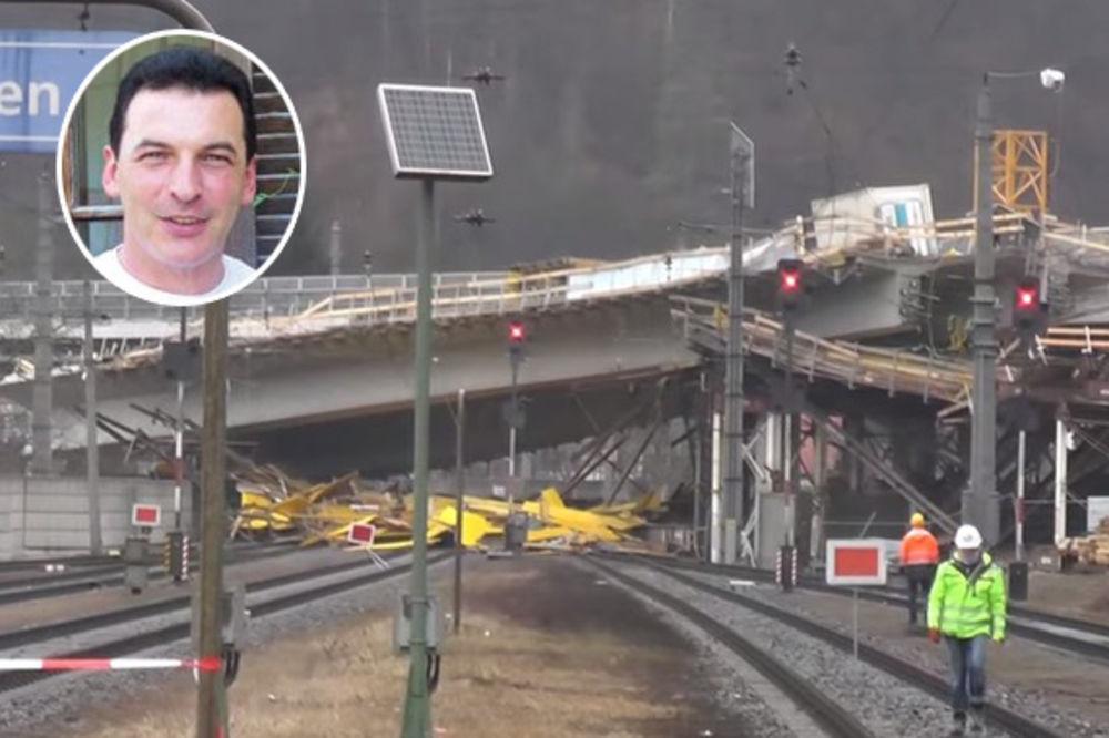 UŽAS: Ovaj je čovek bio ispod mosta kad se srušio!