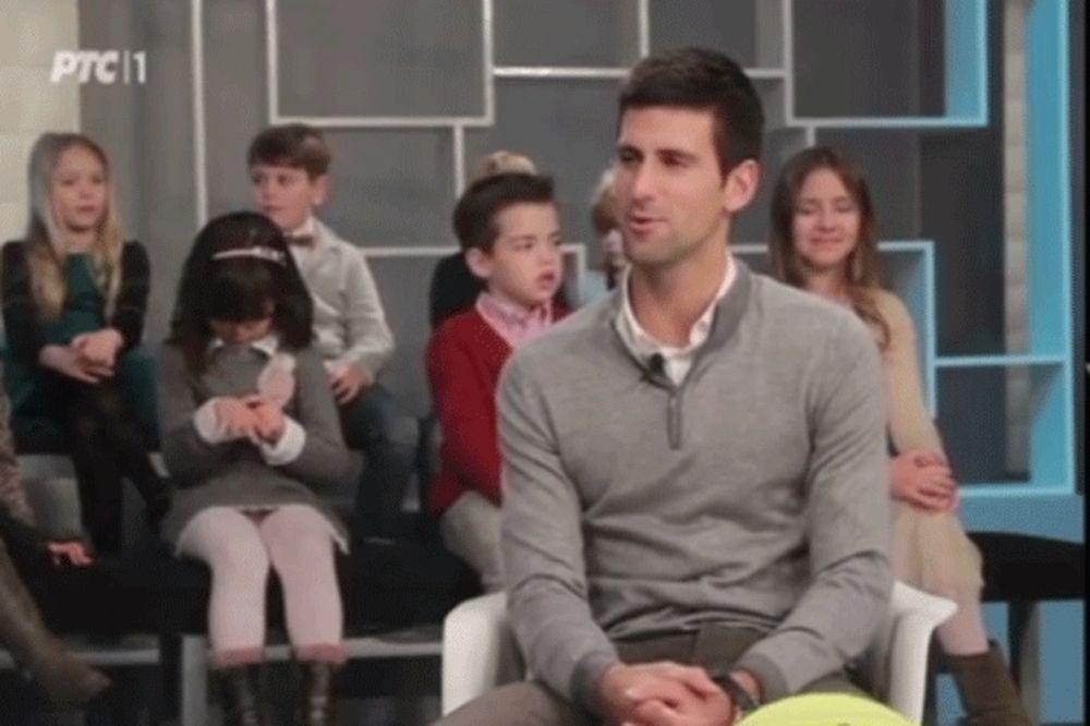 (VIDEO) NOVAK U MALOM DNEVNIKU: Pogledajte šta je Đoković poručio deci