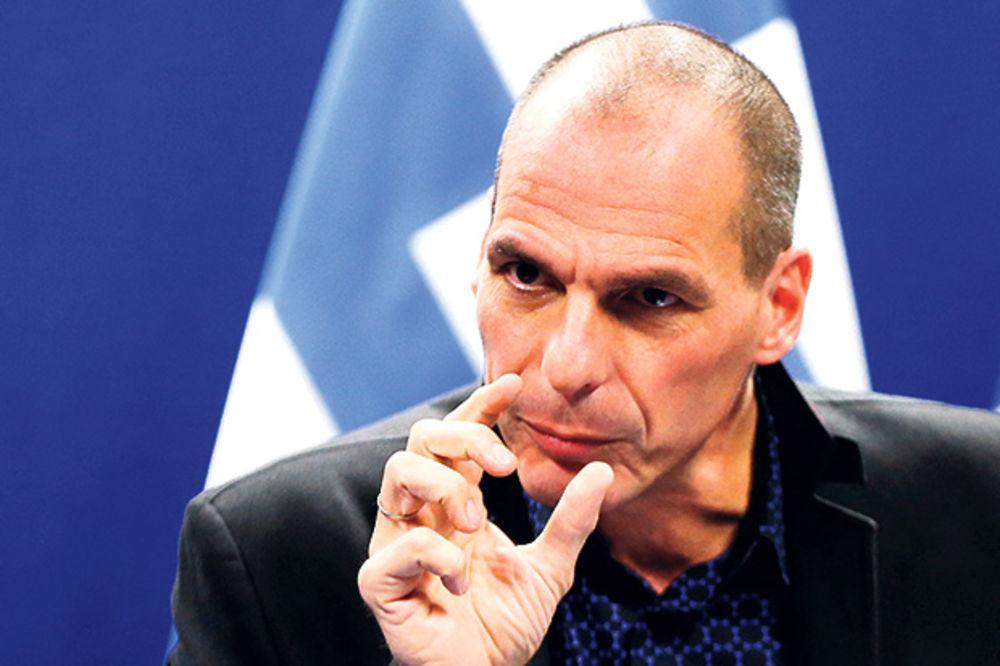 TO SU ZLOBNE GLASINE Varufakis: Grčke štediše neće ostati bez trećine svojih uloga!