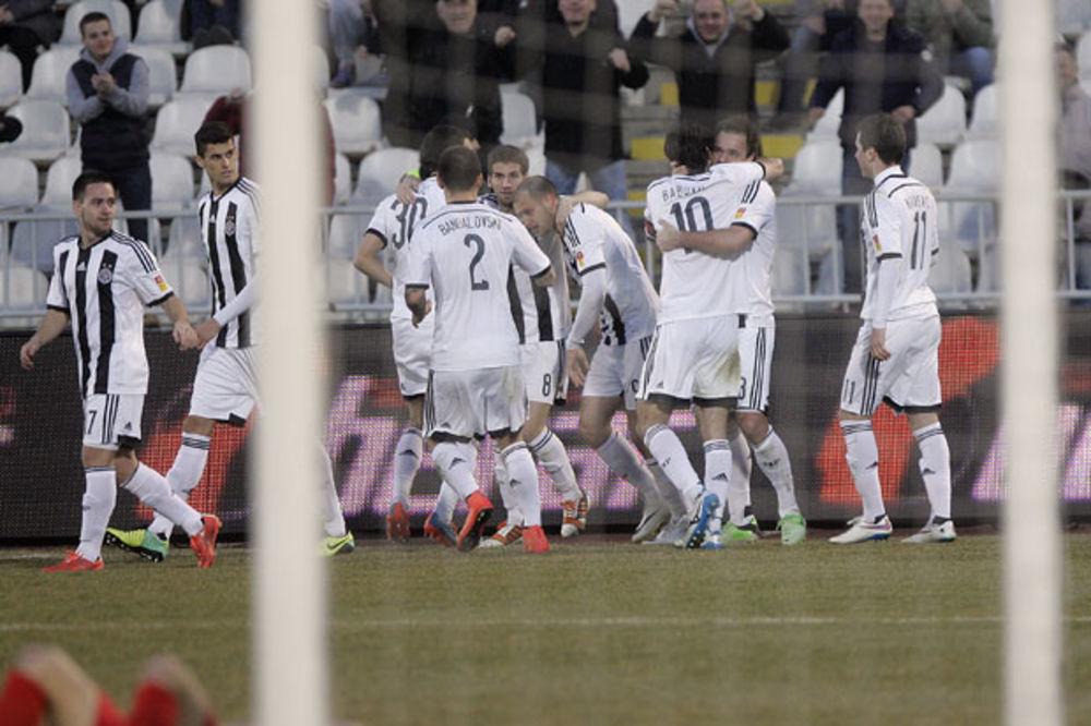 UŽIVO: Partizan - Radnički (N) 0:0