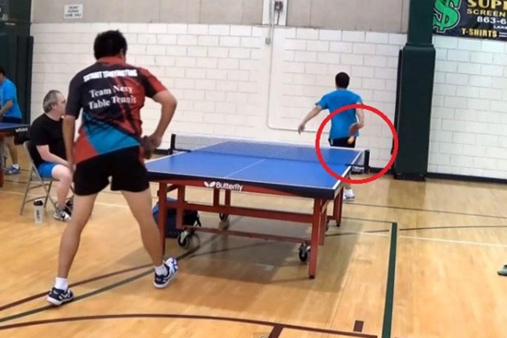 (VIDEO) PLANETA OVO JOŠ NIJE VIDELA: Da li je ovo najlepši potez u istoriji stonog tenisa?