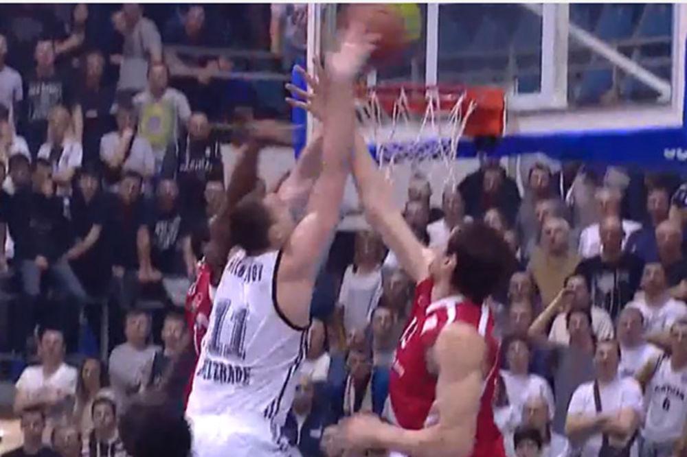 (VIDEO) Pogledajte zakucavanje Milutinova preko 222 cm visokog Marjanovića