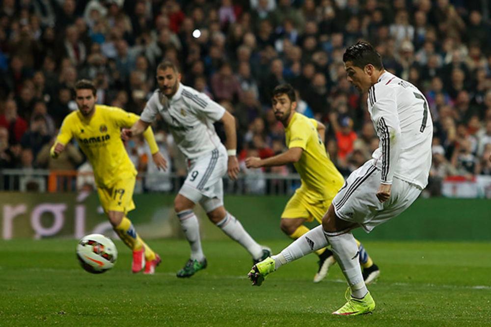 (VIDEO) NE POMAŽE NI RONALDO: Viljareal zaustavio Real Madrid na Santjago Bernabeu