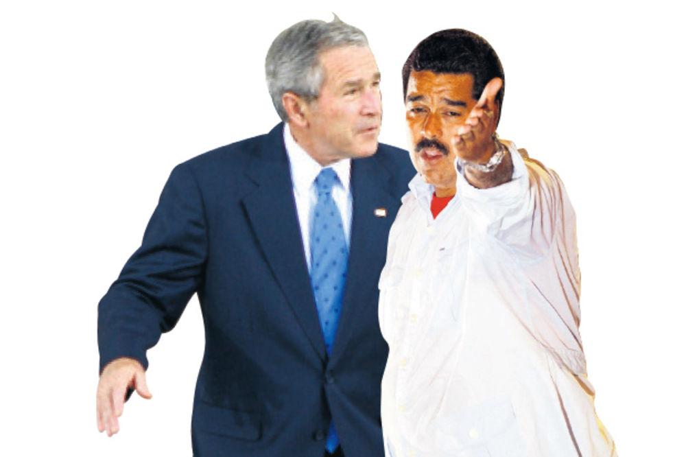 MADURO NE PRAŠTA: Amerikanci su dobrodošli, Buš je nepoželjan u Venecueli!