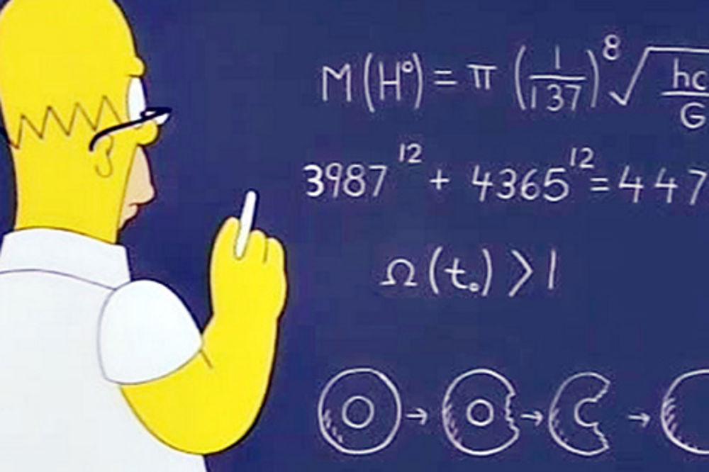 MATEMATIČKO ČUDO KOJE NIKO NIJE PRIMETIO Pažljivo pogledajte šta Homer Simpson radi, bićete šokirani