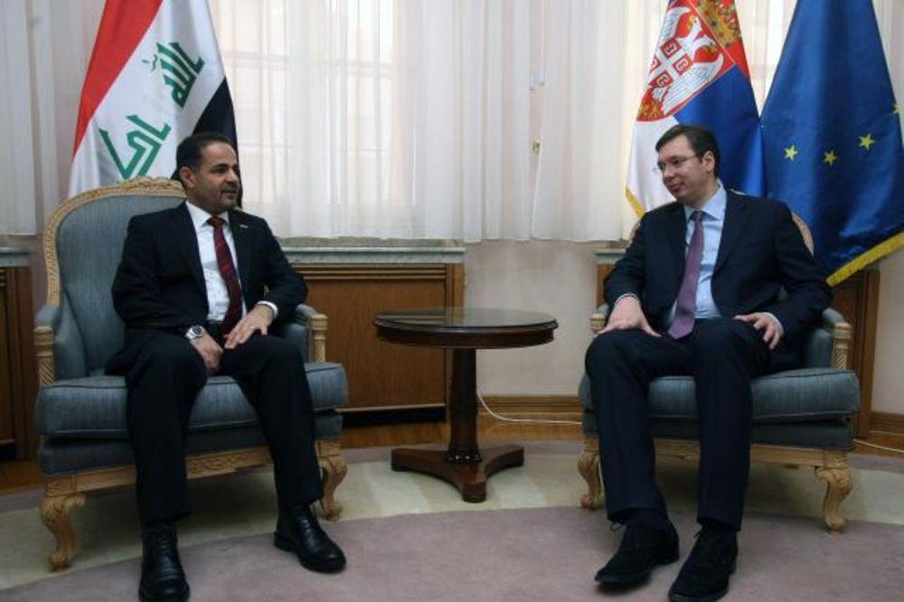SASTANAK U BEOGRADU: Vučić i irački ambasador o unapređenju saradnje