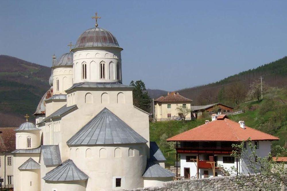 PRIJEPOLJE: Tinejdžeri od 16 i 19 godina opljačkali manastir Mileševu