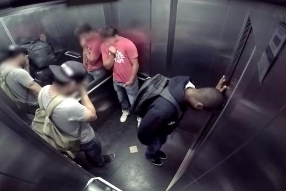 (VIDEO) PREKO 2 MILIONA LJUDI VIDELO JE OVO: Napala ga dijareja dok se vozio liftom