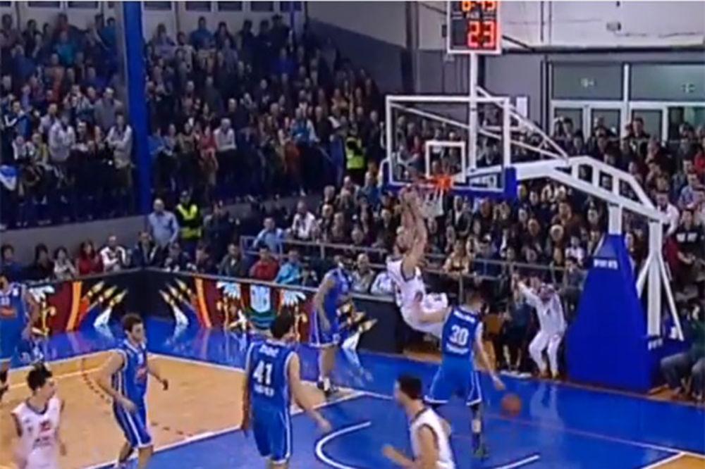 (VIDEO) ON SE VRATIO: Pogledajte kako je Slavko Vraneš zakucao Cibonu u pobedi Metalca