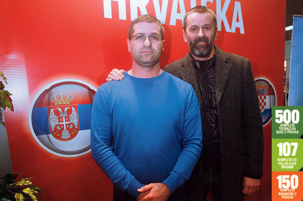 MALVERZACIJE S KARTAMA: Ukrali ulaznice za Dejvis kup vredne 10.000 evra?