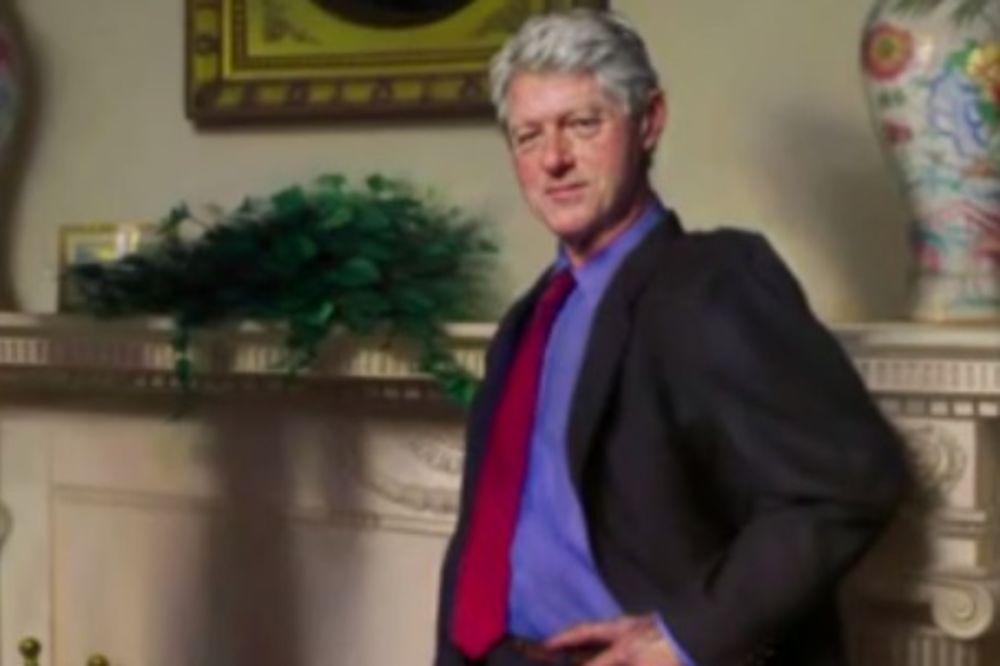 SKANDAL OKO KLINTONOVOG PORTRETA Senka pored bivšeg predsednika SAD krije tajnu koju niko nije znao