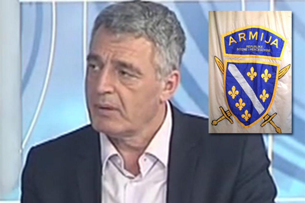 PROTEST SNSD: Ratna zastava muslimanske vojske u Parlamentu BiH neprihvatljiva!