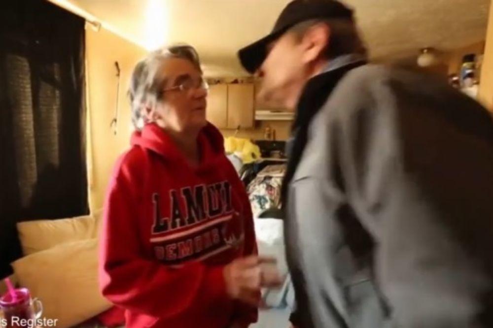 (VIDEO) Ovaj čovek (61) pešači 104 km svaki dan kako bi izdržavao bolesnu suprugu!
