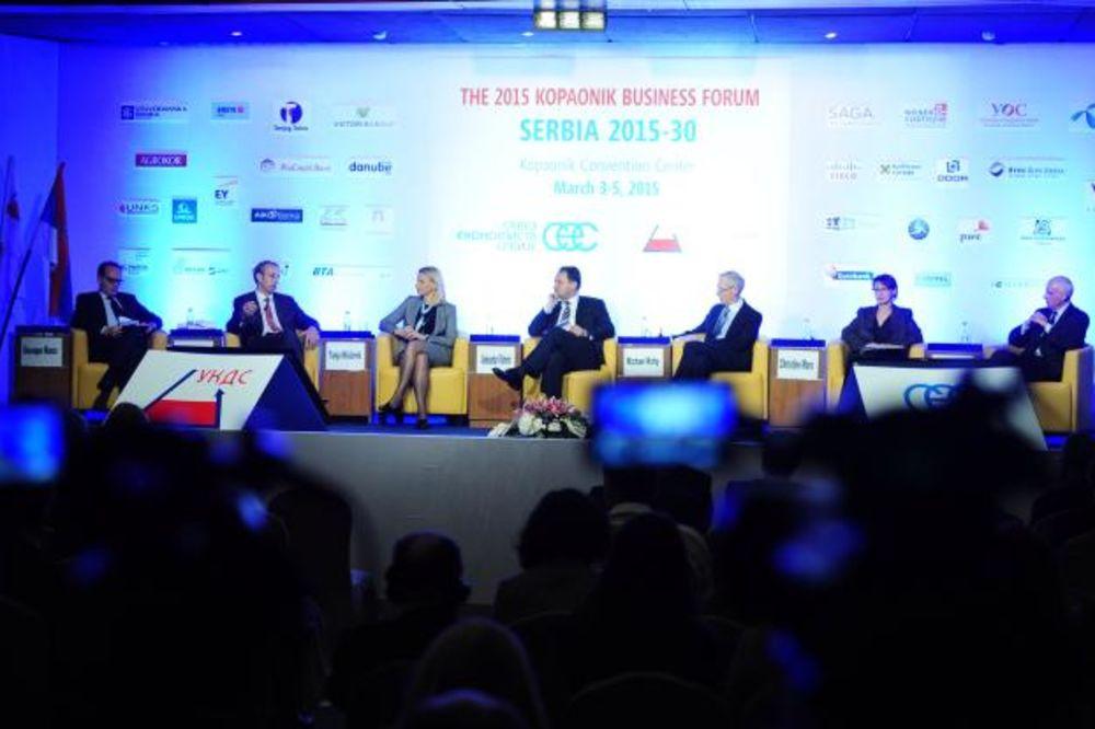 DRUGI DAN BIZNIS FORUMA: Na Kopaoniku danas o budućnosti Srbije do 2030.