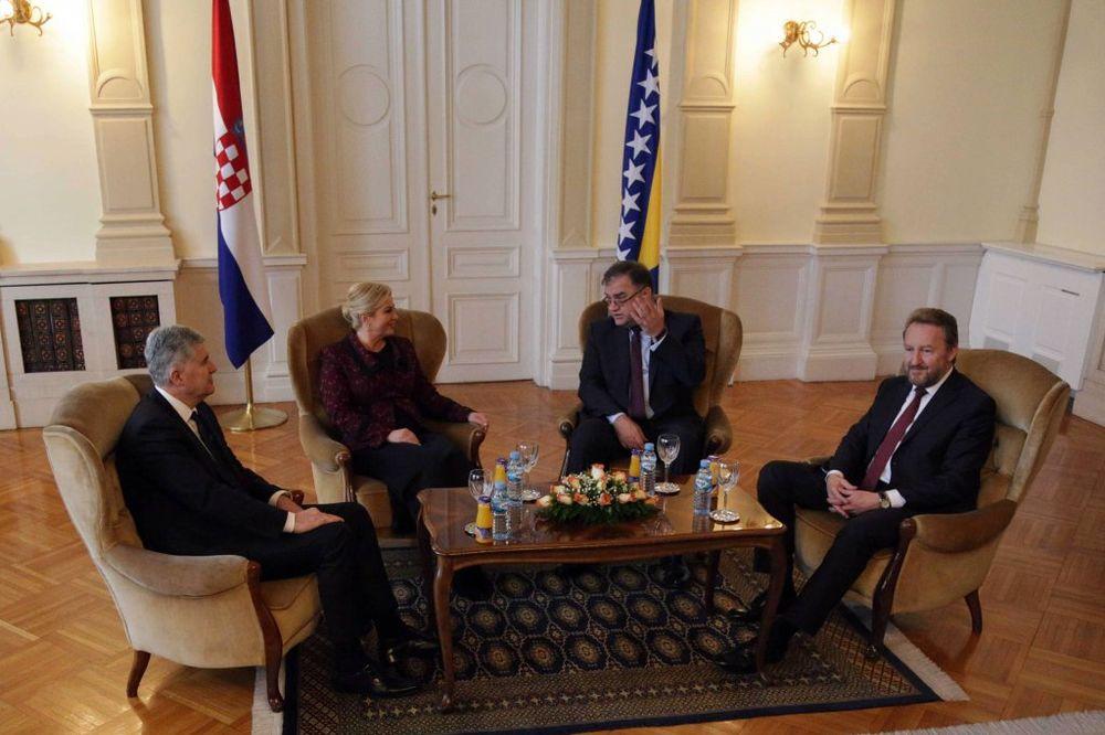 GRABAR KITAROVIĆ U SARAJEVU: Nastaviću da podržavam suverenitet BiH