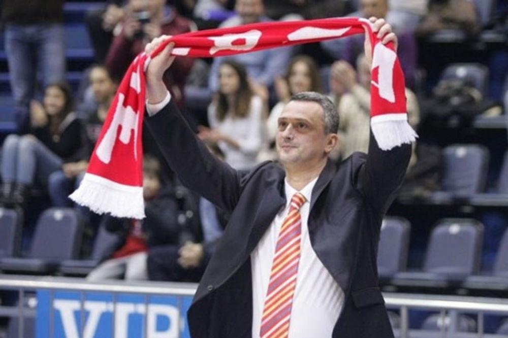 Radonjić: Da proslavimo 70. rođendan Zvezde, pa da pobedimo Makabi