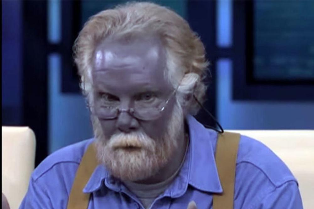 (VIDEO) KRAJ VELIKOG ŠTRUMFA: Plavi čovek preminuo od srčanog udara!