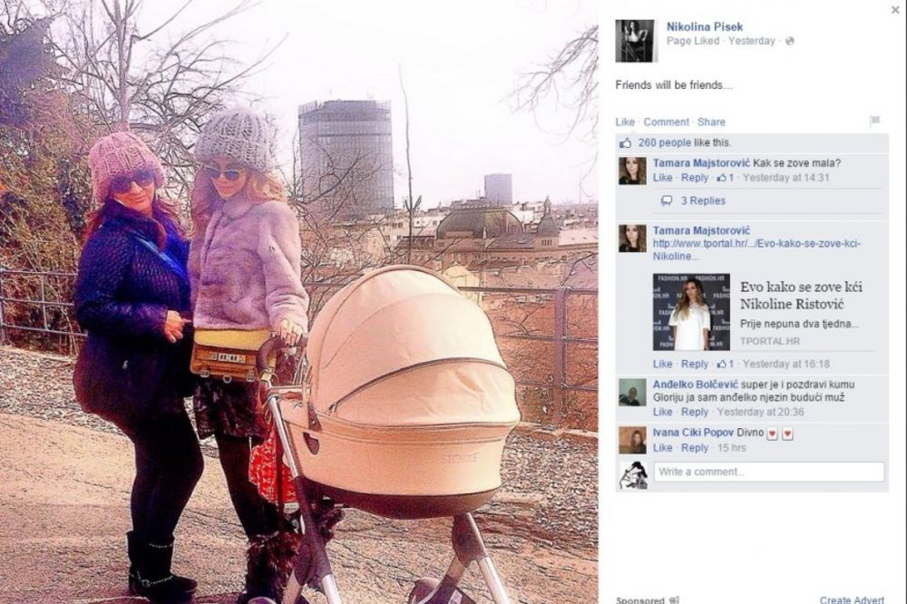 ZGODNA MAMA: Ovako Nikolina Pišek izgleda samo 3 meseca posle porođaja