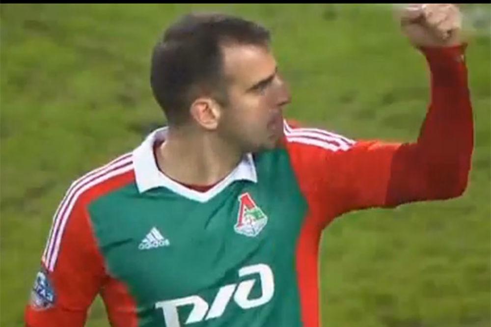 (VIDEO) POČEO DA OPRAVDAVA 4 MILIONA EVRA: Škuletić postigao gol iz penala na debiju za Lokomotivu