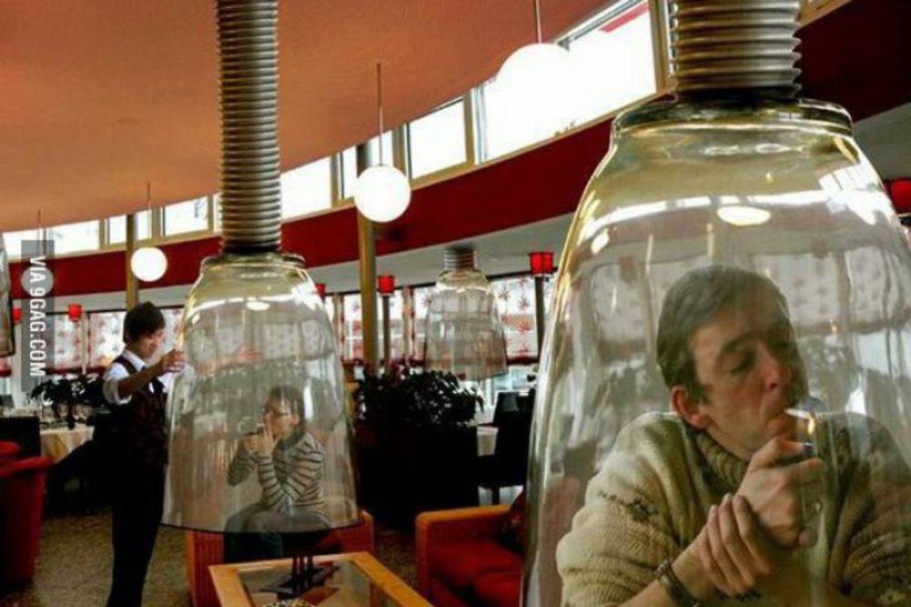PUŠITE SLOBODNO: Evo kako su Japanci rešili problem pušenja na javom mestu!