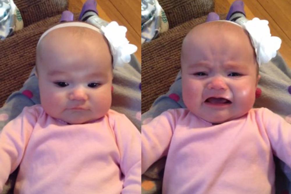 (VIDEO) POGLEDAJTE: Šta jedino može da umiri ovu bebu