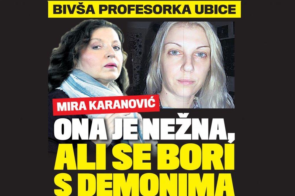 DANAS U KURIRU PROFESORKA UBICE Mirjana Karanović: Teodora je nežna, ali se bori s demonima