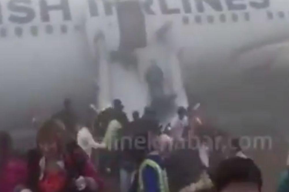 (VIDEO) OVAJ PILOT JE STVARNO MAJSTOR: Turski avion sa 238 putnika promašio pistu i sleteo na livadu