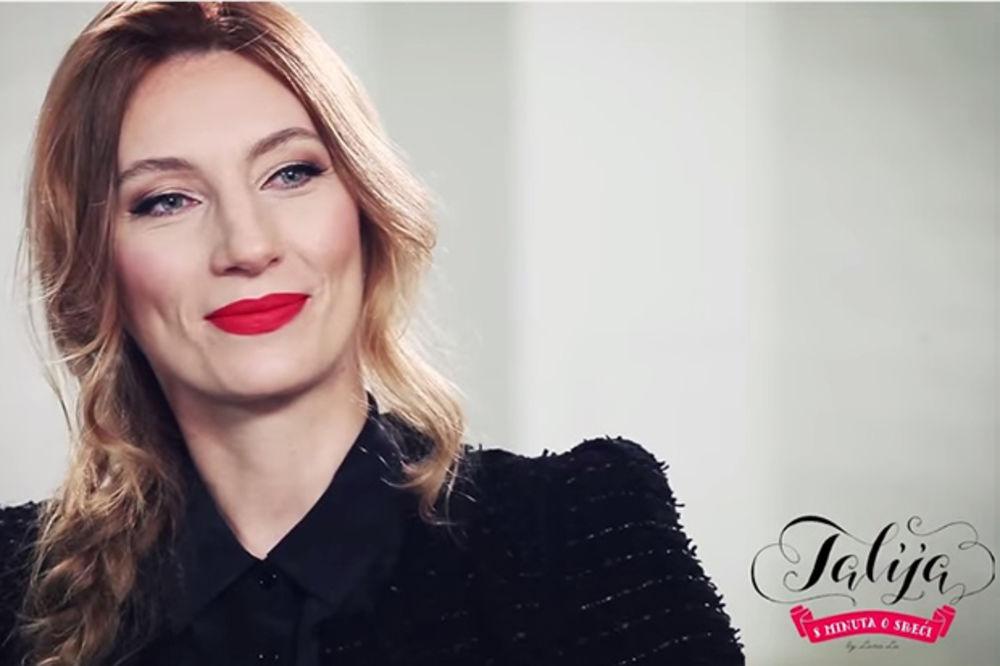 TALIJA - 8 MINUTA O SREĆI Ana Stanić: Maštam o kući u cveću