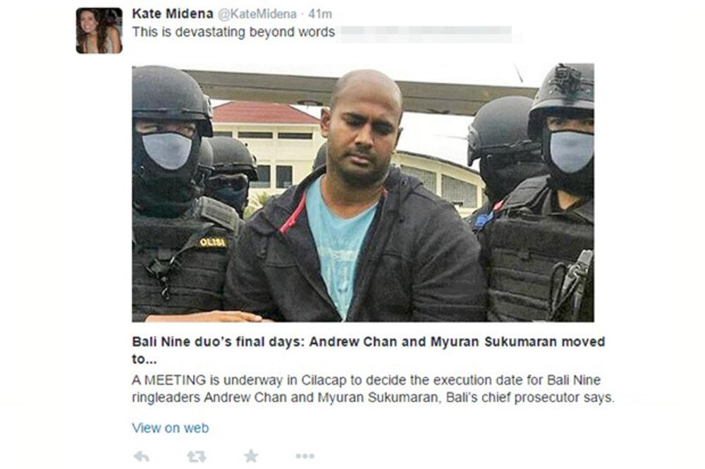 OSTRVO SMRTI: Dvojica Australijanaca prebačeni na Javu, gde će biti pogubljeni