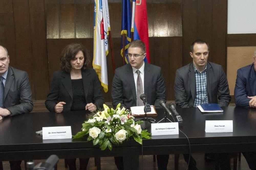 Stefanović: Jedan od prioriteta vlade je bezbednost građana