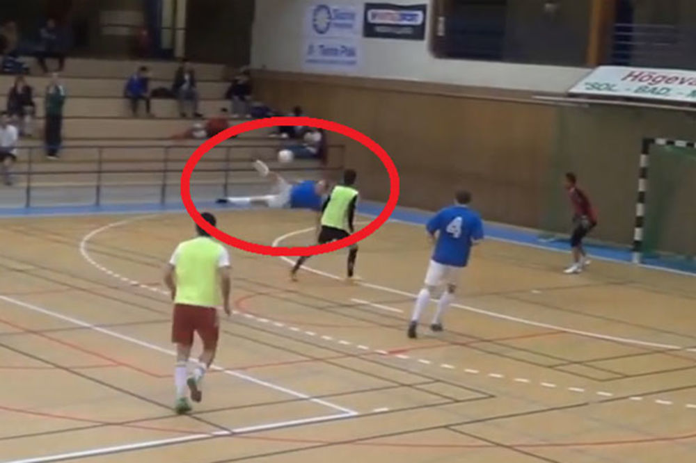 (VIDEO) VOLEJČINA, BOG TE VIDEO: Da li je ovo najlepši gol u istoriji futsala?