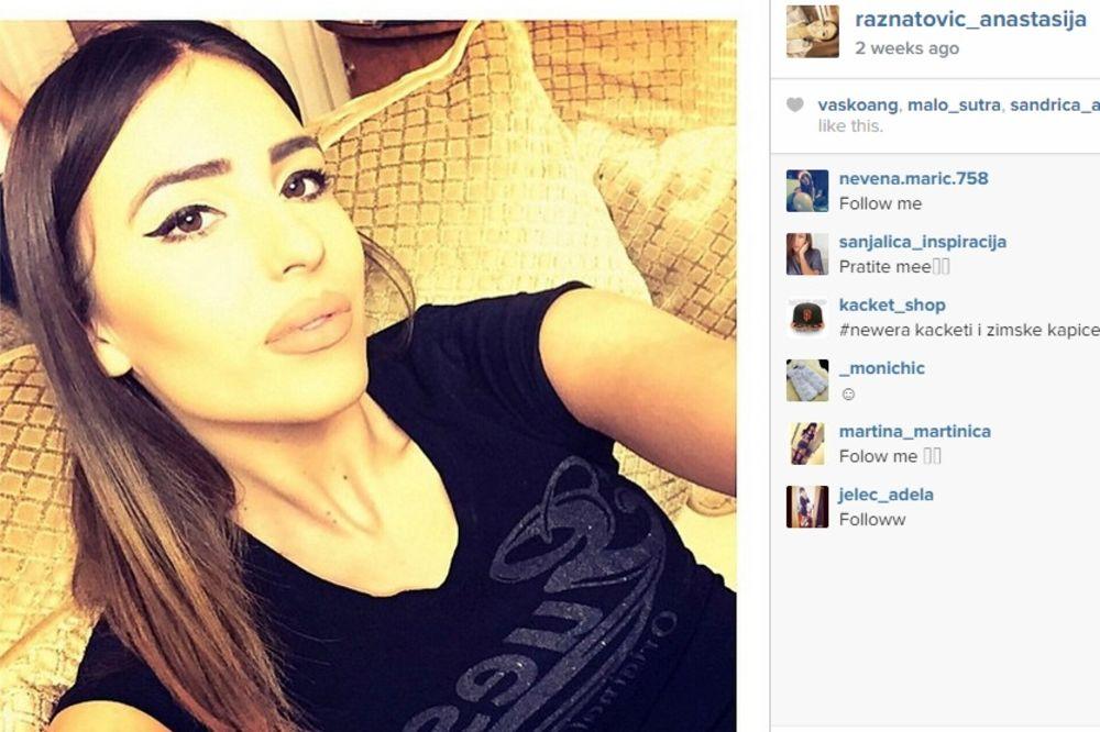 (FOTO) MISLI NA OCA: Anastasiju Ražnatović preplavile emocije
