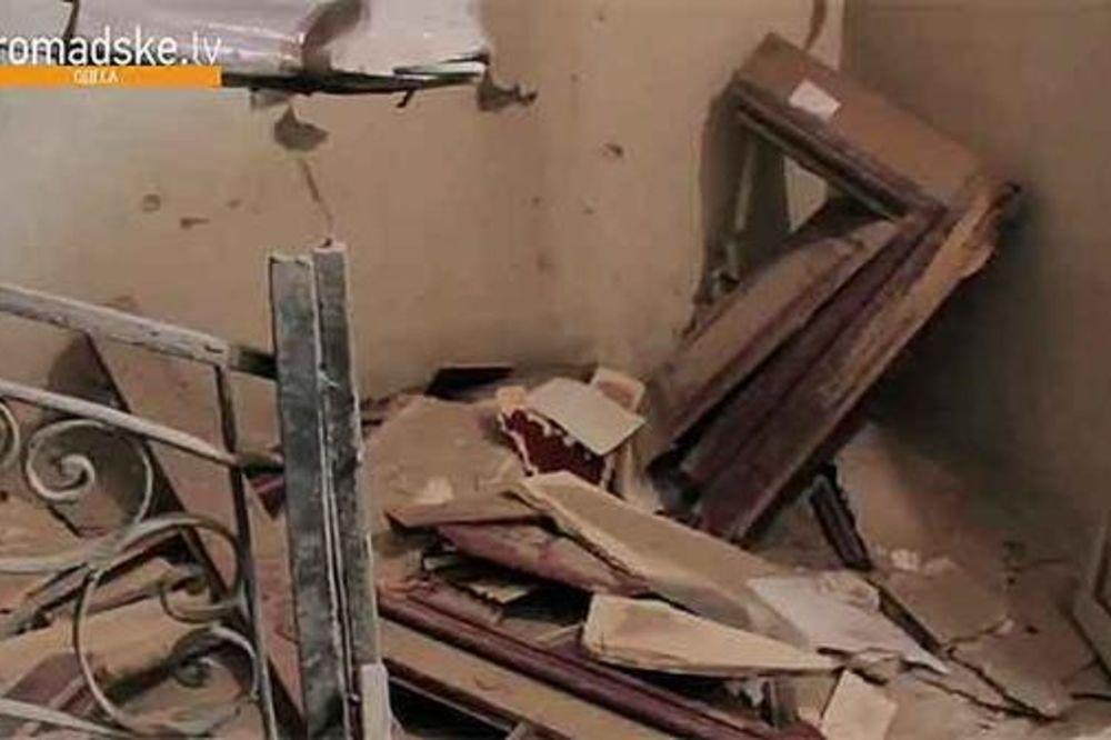 (VIDEO) NAPAD NA UKRAJINSKE NEOFAŠISTE: Eksplozija u prostorijama Desnog sektora u Odesi