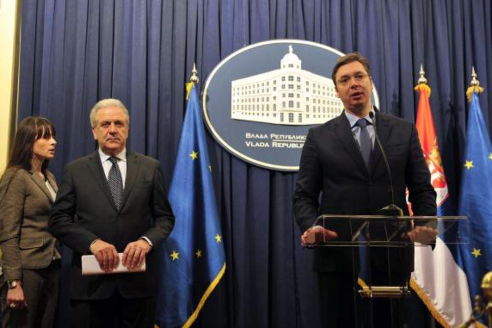 Vučić: Srbija nije odgovorna za migracije!