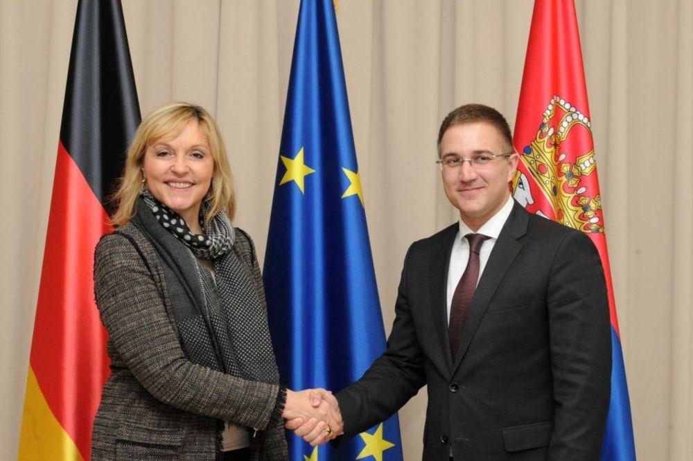 Stefanović sa Beate Merk: Srbija uvek može da računa na podršku Bavarske na evropskom putu