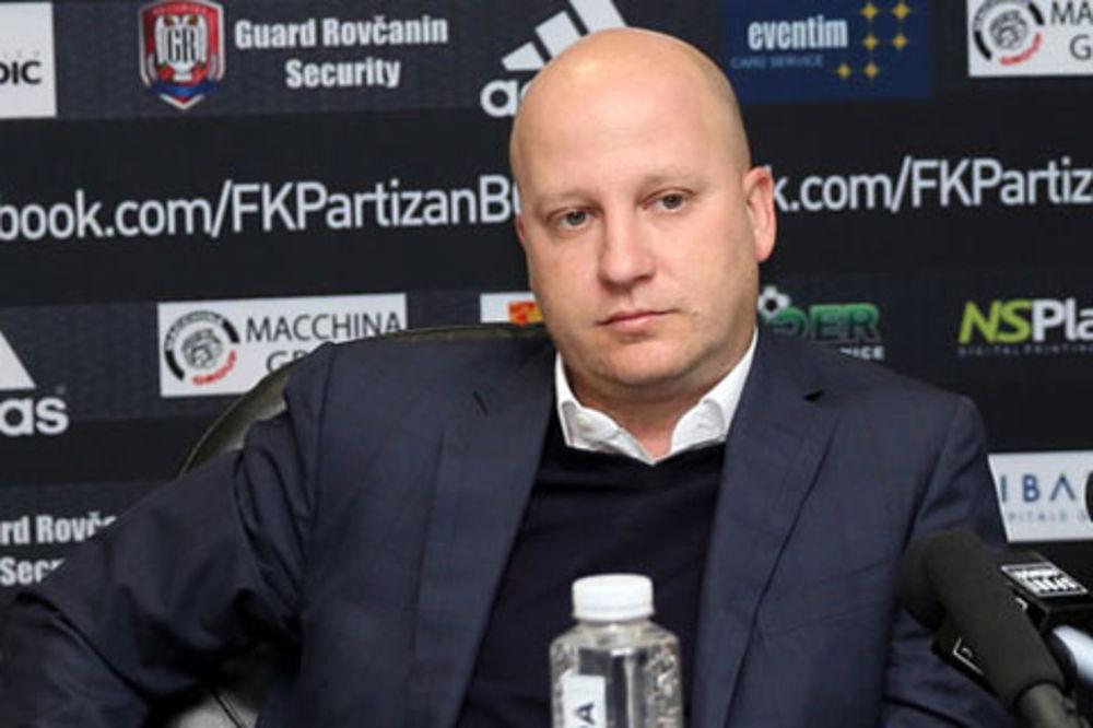 NIKOLIĆ OČEKUJE ODANOST I LOJALNOST: Partizan mora da pobedi Donji Srem!