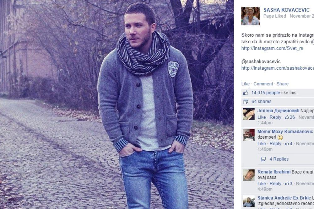 (FOTO) SAŠA KOVAČEVIĆ: Postavio fotku sa Tajlanda i dobio 12.000 lajkova
