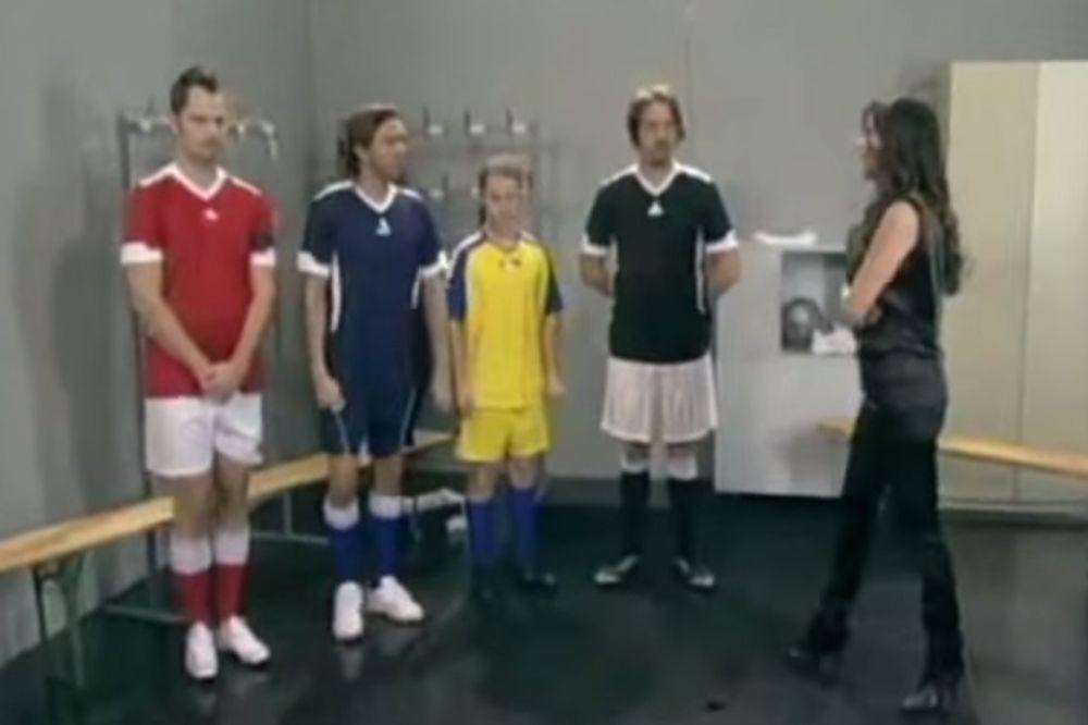 (VIDEO) DIREKTORKA CECA: Evo kako je pevačica vaspitavala fudbalere