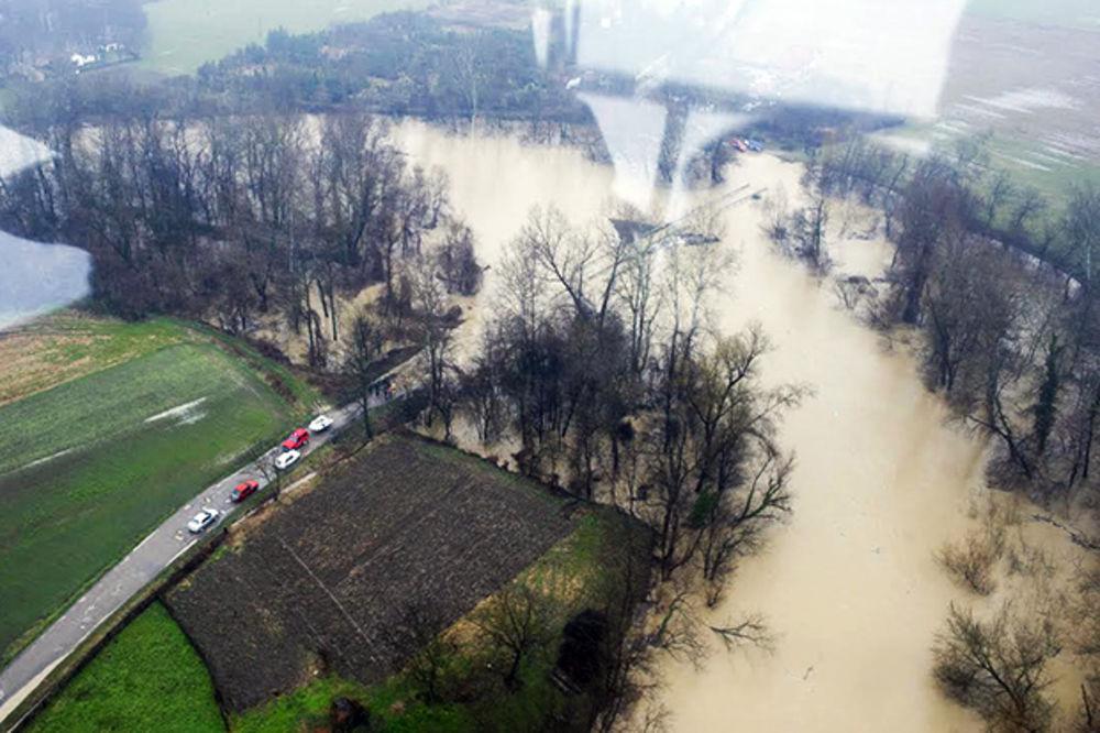 (FOTO) SNIMCI MUP SRBIJE: Ovako je Obrenovac danas izgledao iz vazduha