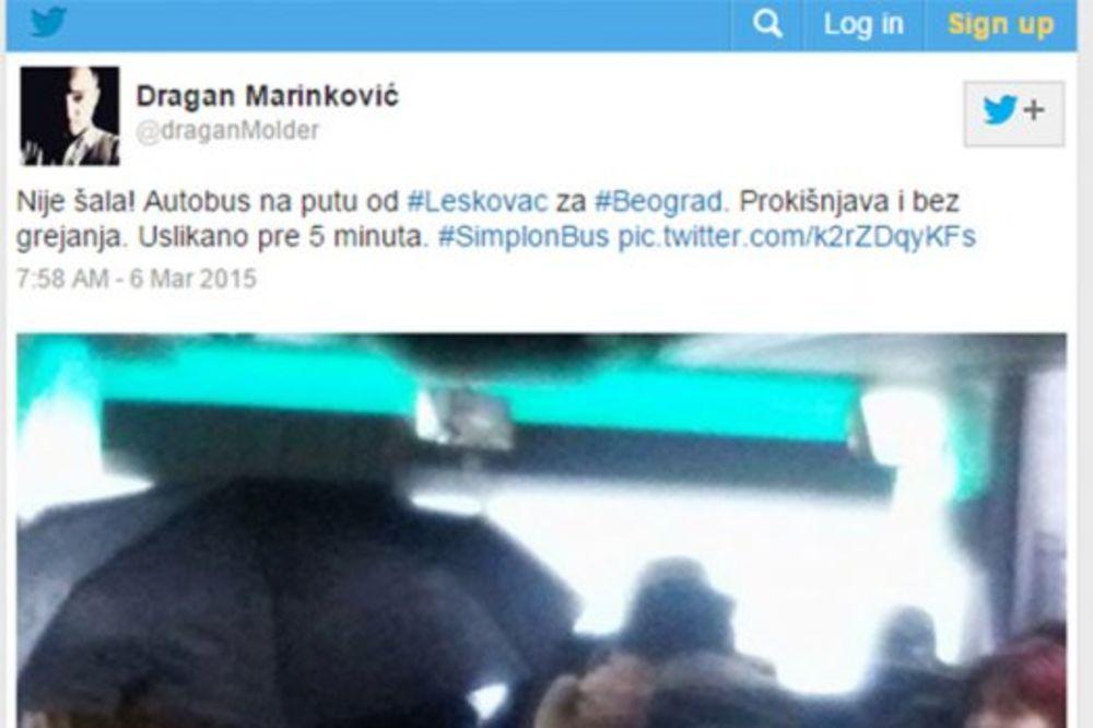 KISLA MI JE GLOOVA - DRUGI DEO: Evo šta se desilo u autobusu za Leskovac!