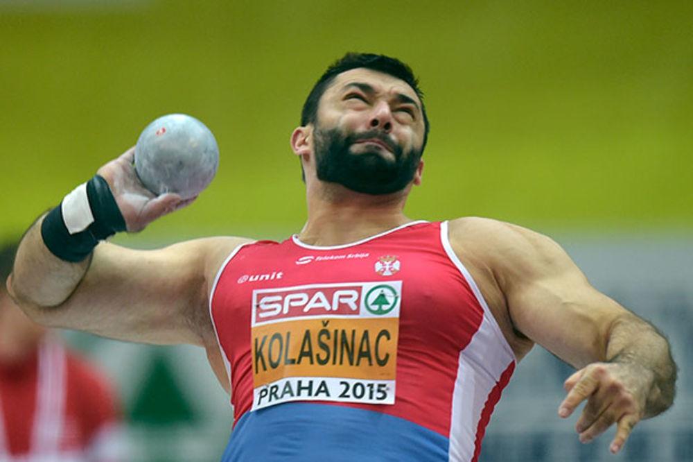 ASMIR SILNI: Kolašincu srebro na dvoranskom Evropskom prvenstvu (VIDEO)