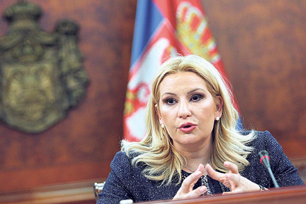 Mihajlovićeva: Kompletan izveštaj o kvaru aviona vlade najkasnije sutra